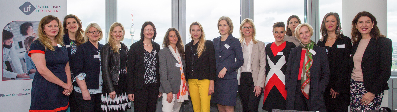 Zahlreiche weibliche CEOs und Geschäftsführerinnen unserer Partnerunternehmen des Netzwerks