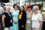 Familienministerin Stilling mit Bürgermeisterinnen