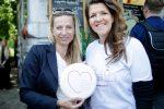 Familienministerin Juliane Bogner-Strauß mit der Geschäftsführerin der Familie & Beruf Management GmbH Elisabeth Wenzl